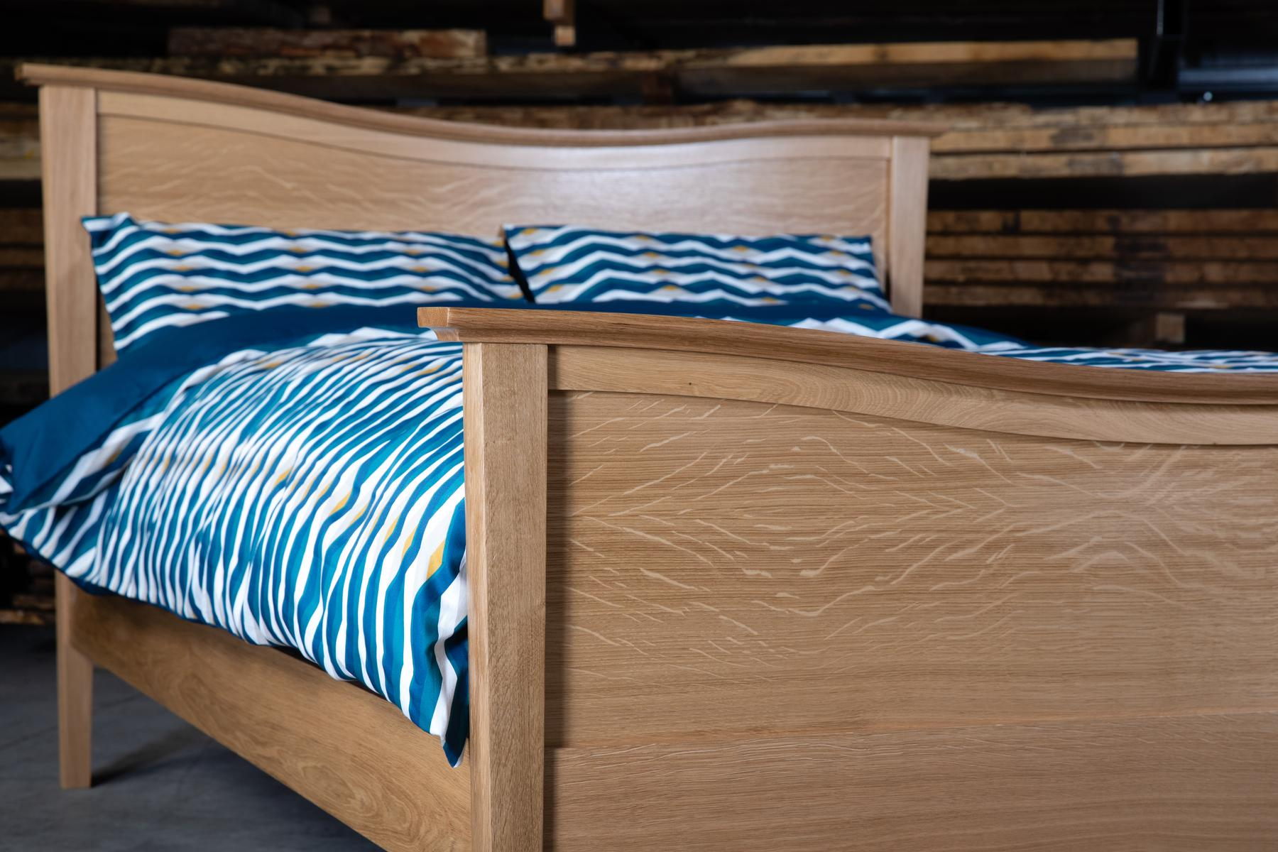 Bespoke Hardwood Beds