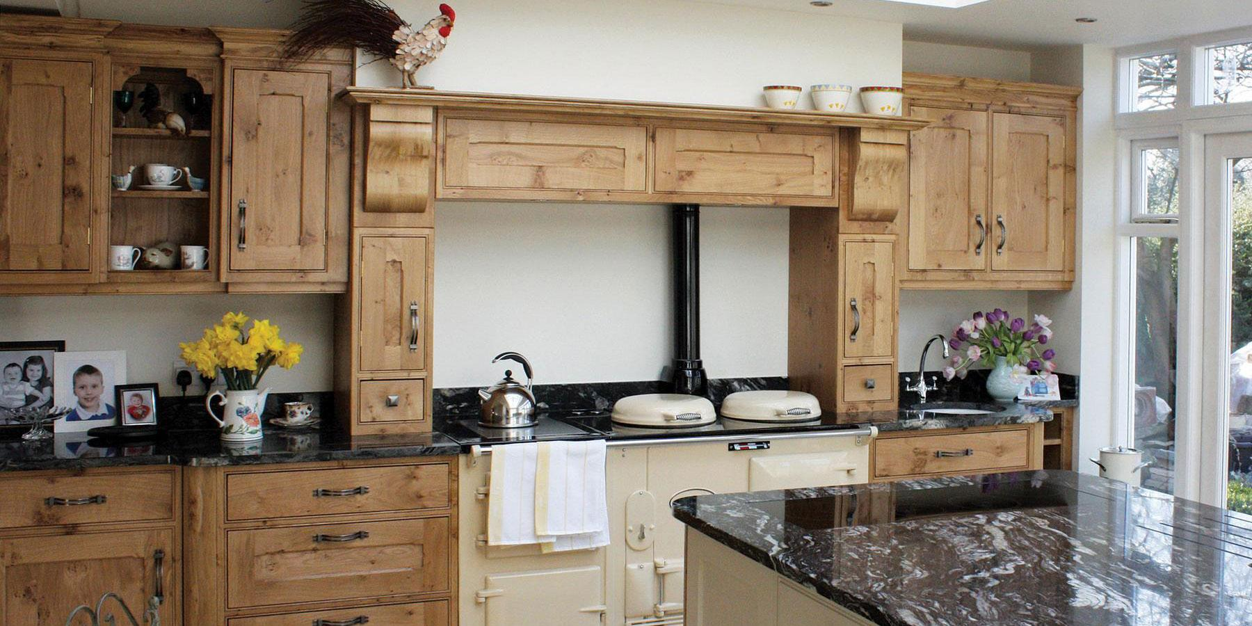 Luxury Bespoke Traditional Kitchens