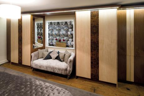 Walnut and Sycamore Bedroom