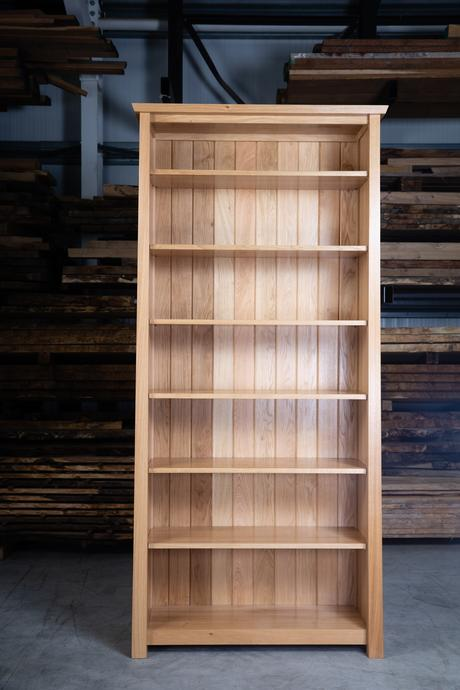 Arts & Crafts High Bookcase