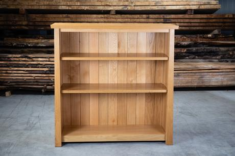 Arts & Crafts Low Bookcase