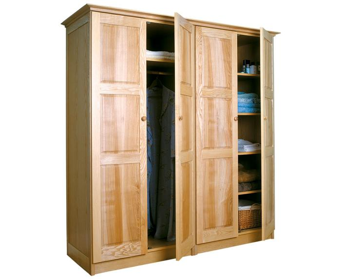 Helmsley 4 Door Wardrobe