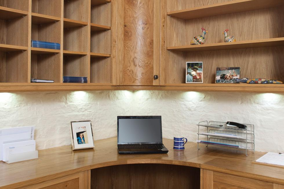 Thornton Oak Home Office From Treske