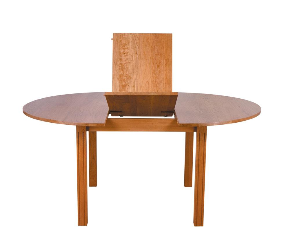 Butterfly leaf table from treske - Round kitchen table with butterfly leaf ...