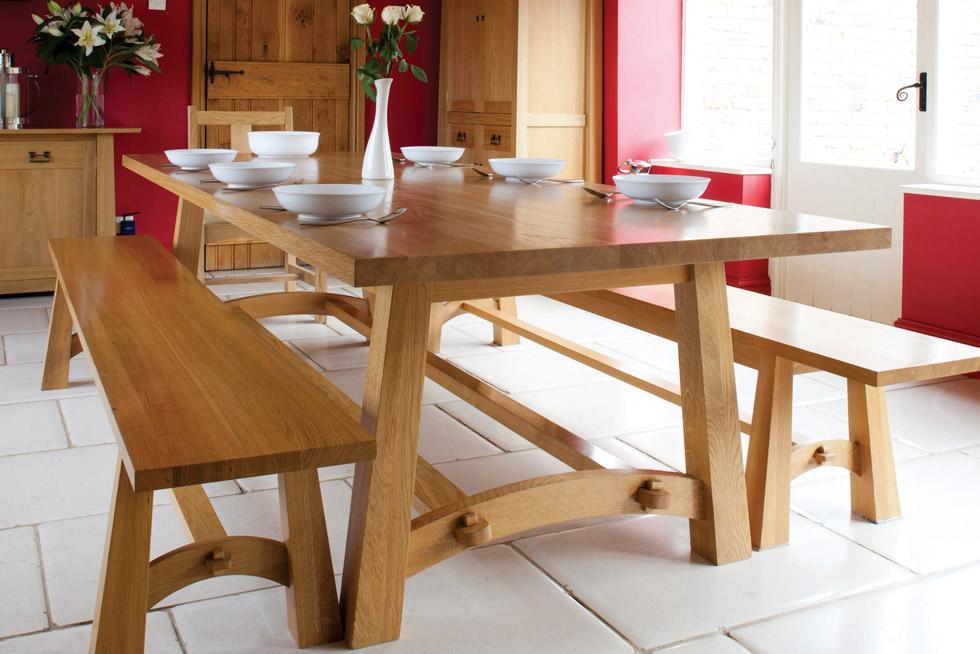 Arts & Crafts Style Hardwood Oak Furniture from Treske