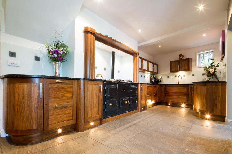 Bespoke Art Deco Hardwood Kitchen By Treske