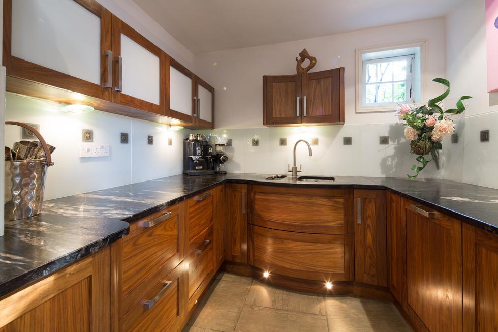 Bespoke Art Deco Hardwood Kitchen By Treske