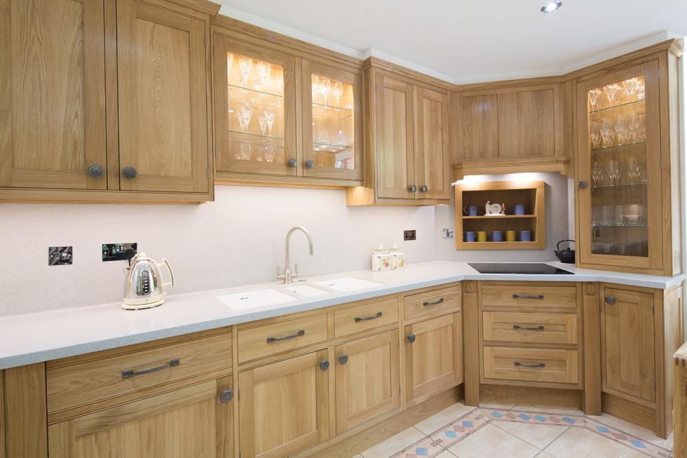 Bespoke Arts Crafts Hardwood Kitchen By Treske