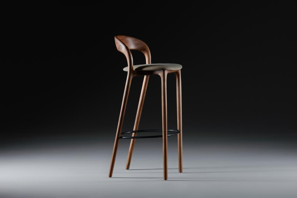 Artisan Neva Light Bar Chair Bespoke Hardwood Furniture