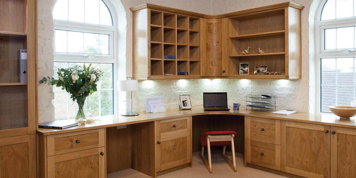 bespoke home office. thornton oak home office bespoke s