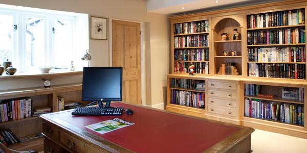 Welburn Bespoke Traditional Oak Office