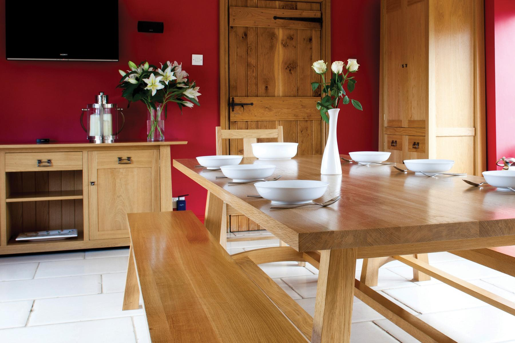 Beautifully Crafted<br>Solid Hardwood Furniture