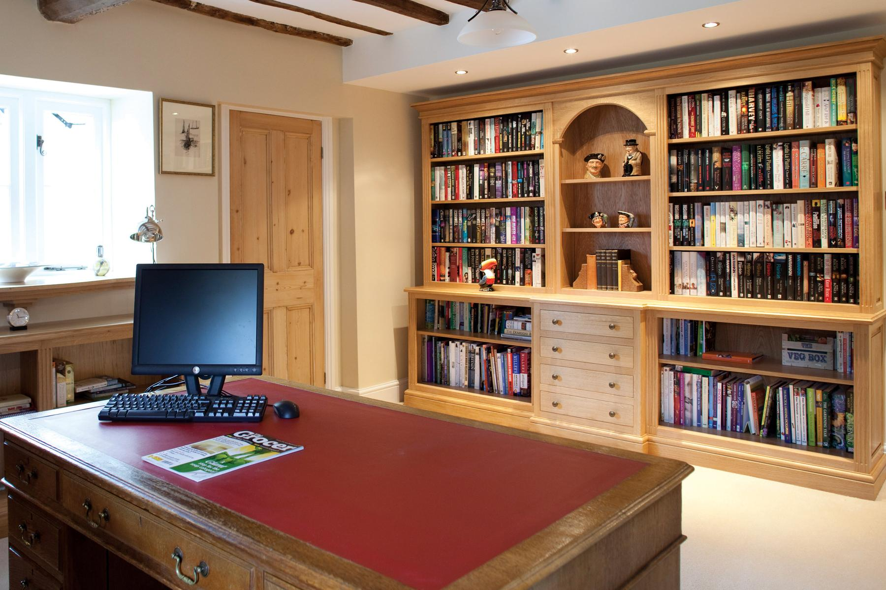 Welburn Traditional Home Office