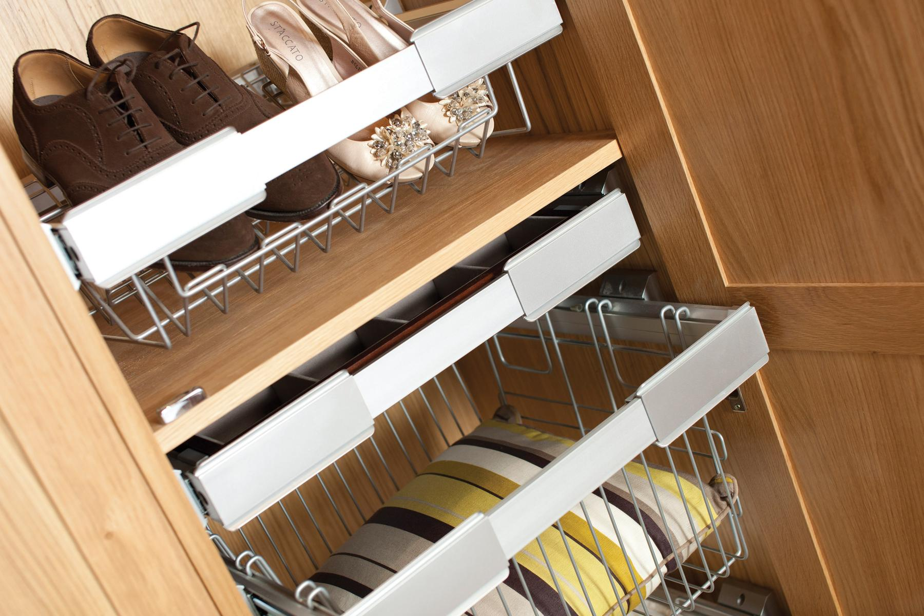 A wide range of storage options