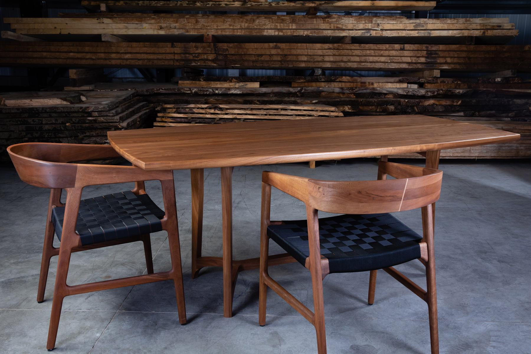 Ayton table with Tesa chairs