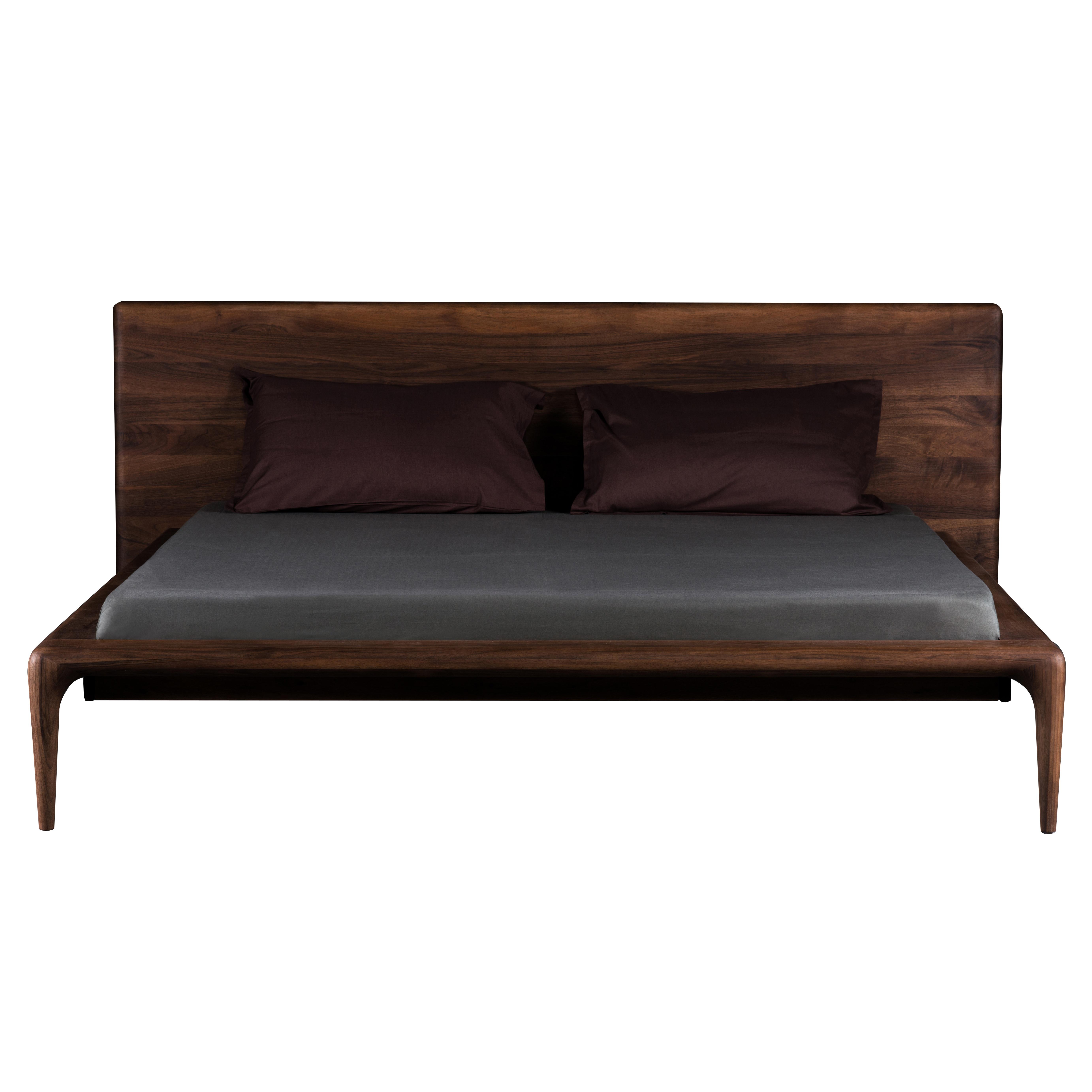 Artisan Latus Bed Bespoke Hardwood Furniture From Treske
