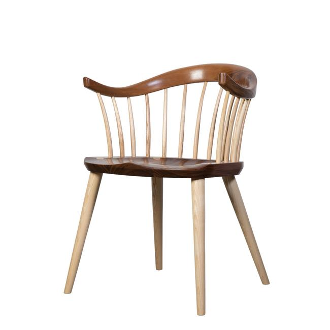 Walnut and Ash Armchair